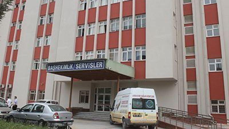 Devlet Hastanesi üroloji bölümünde yangın