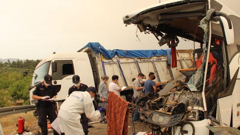 Manisa'daki otobüs kazasında yeni detaylar ortaya çıktı