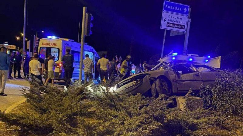 Söke'de trafik kazası: 1 ölü