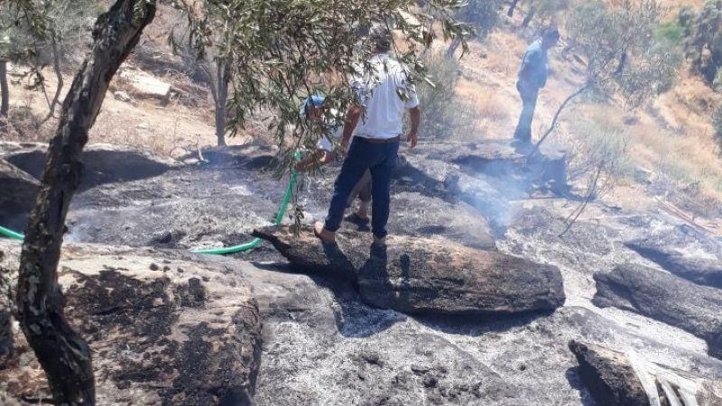 Yangına anında vatandaş müdahalesi geldi