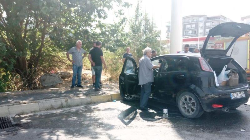 Söke'deki kaza ucuz atlatıldı