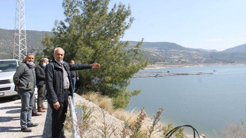 Sulama ile birlikte  barajlarda da su bitti
