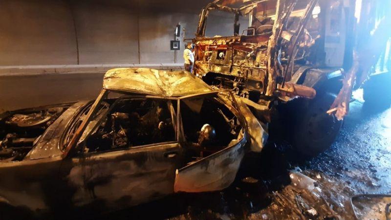 Selatin Tüneli'nde feci kaza: 4 ölü, 2 yaralı