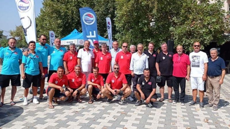 Balık adamlar Türkiye 2.si oldu