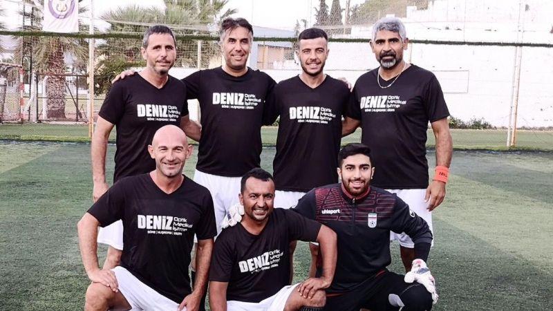 30 Ağustos Zafer Bayramı Halı Saha Maçı için Ünlü Futbolcular Toplandı