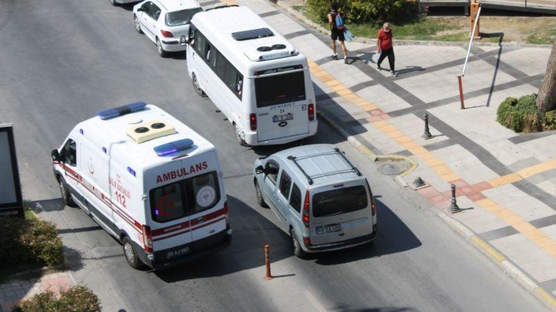 Ambulansa başka çare bırakmadılar
