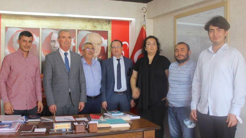 MHP'den Dekan Akkoyun'a destek