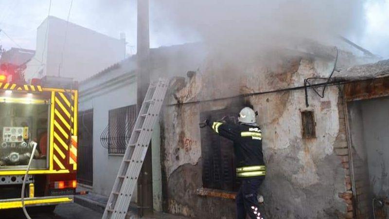 Söke'de 1 metruk bina yangını daha