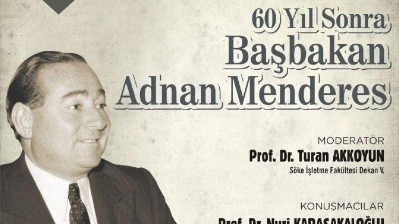 Adnan Menderes anısına 1. Halk koşusu yapılacak