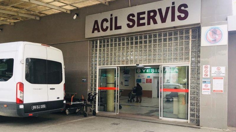 Polise baltayla saldıran şahıs yaralandı