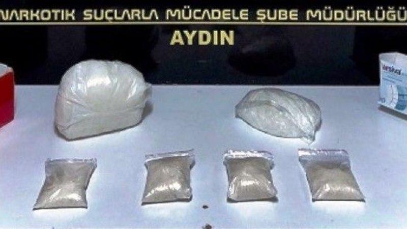 Bir haftada 3Kg. uyuşturucu madde ele geçirildi