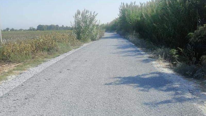 Karayolları asfaltladı