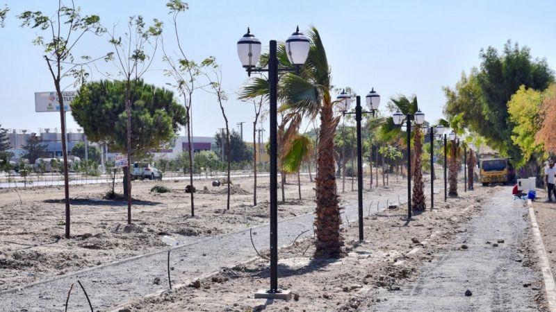 Söke Belediyesi yeşil alan çalışması başlattı