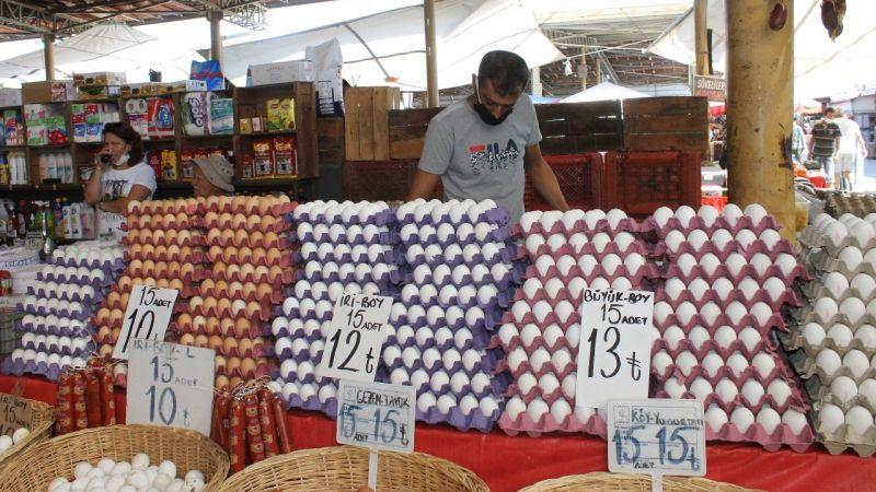 Yumurta fiyatları cep yakıyor
