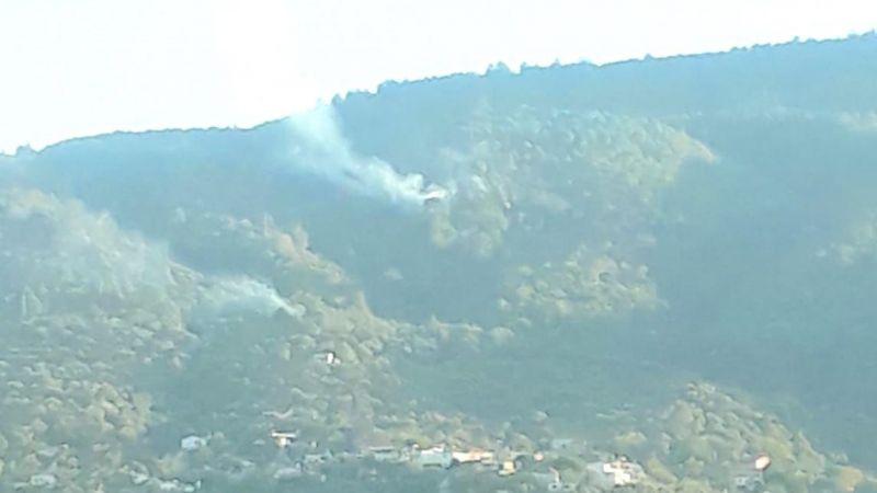 Güzeltepe  Mahallesi'nde yangın