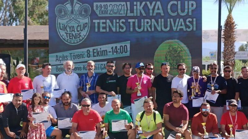 Likya Cup Tenis Turnuvasında Kupa Söke'ye Geldi