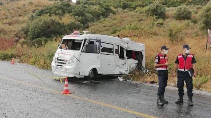 Karataş: Ağaçlı yolundaki kaza%150 şoför hatası