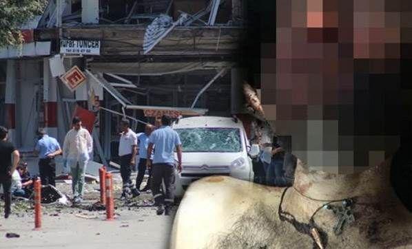 PKK'lı teröristin boynundan haç çıktı