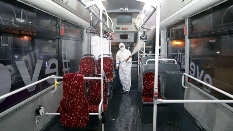 Van'da dezenfekte çalışmaları sürüyor
