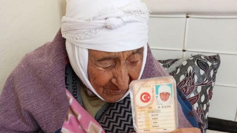 Türkiye'nin en yaşlı kadını Van'da hayatını kaybetti