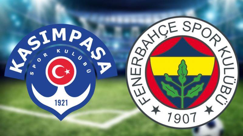 Kasımpaşa Fenerbahçe maçı ne zaman hangi kanalda saat kaçta?