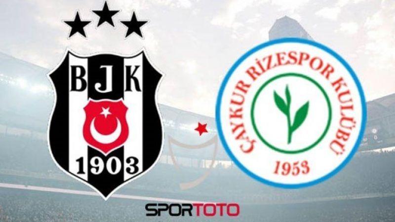 Beşiktaş Rizespor maçı canlı izle