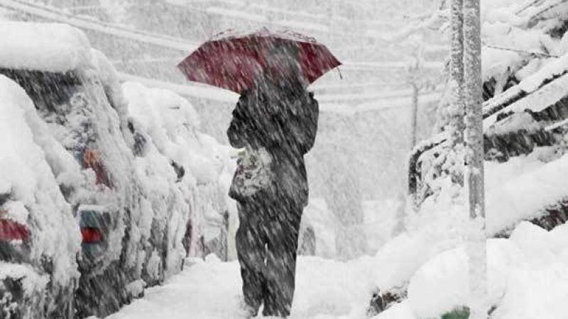 Meteoroloji Vanlıları uyardı! Fırtına ve yoğun kar yağışı