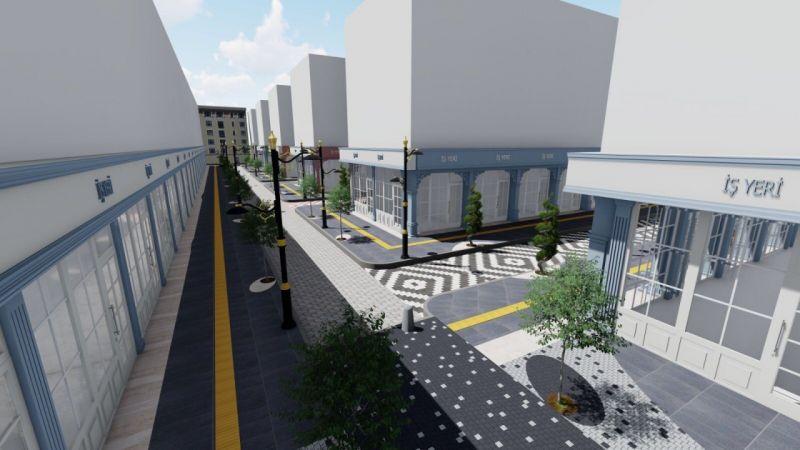 Van PTT Caddesi yeni yüzüne kavuşuyor