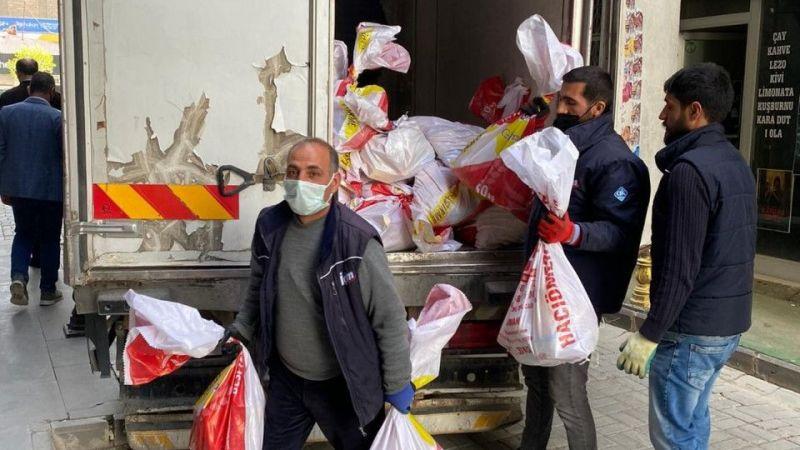 Birlik Vakfı Van Şubesi'nden bin 220 aileye Ramazan yardımı