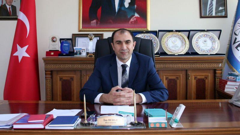 VAN ESOB Başkanı Berge'den Ramazan Bayramı mesajı