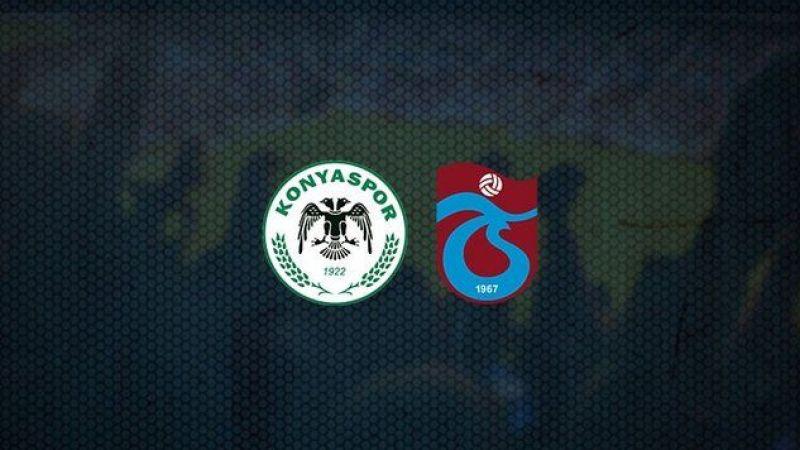 Konyaspor - Trabzonspor maçı ne zaman, hangi kanalda, saat kaçta?
