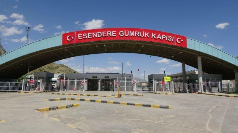 Esendere Sınır Kapısı 14 ay sonra açıldı