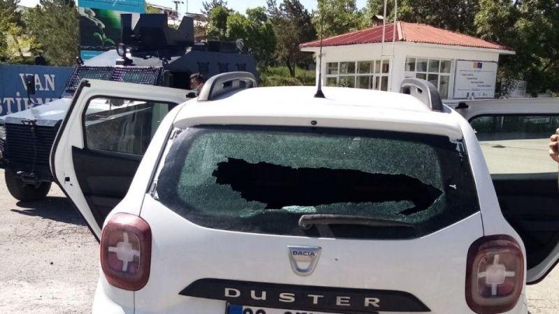 Van'da VEDAŞ ekibine silahlı saldırı