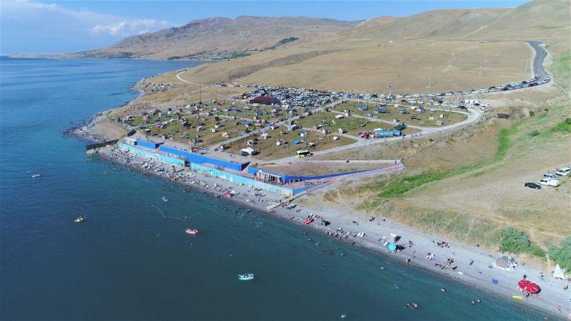 Van Gölü mavi bayrak listesindeki yerini koruyor
