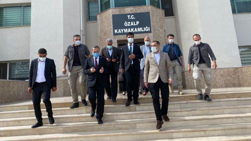 Van Milletvekili Abdulahat Arvas'tan Özalp ve Saray ilçelerine ziyaret