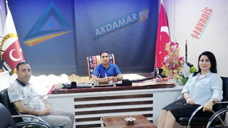 GAP Gazeteciler Birliği'nden ABBİM'e ziyaret