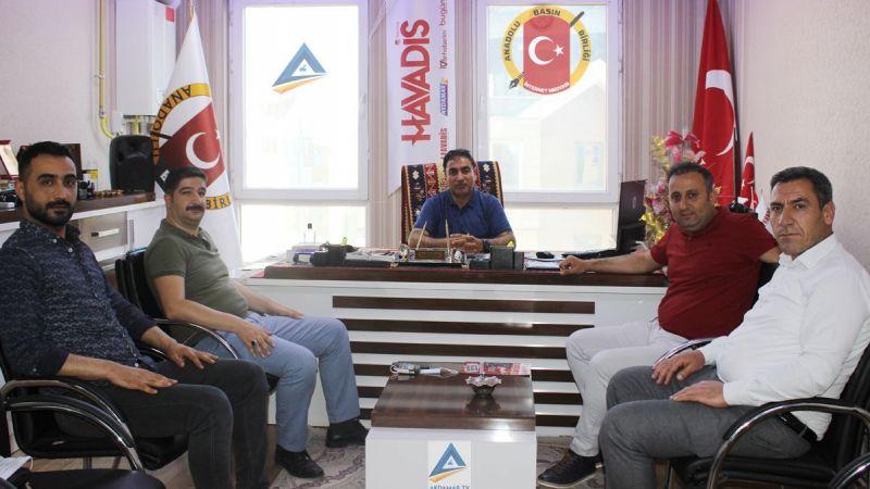 3 BAY Media Grup'tan ABBİM'e ziyaret