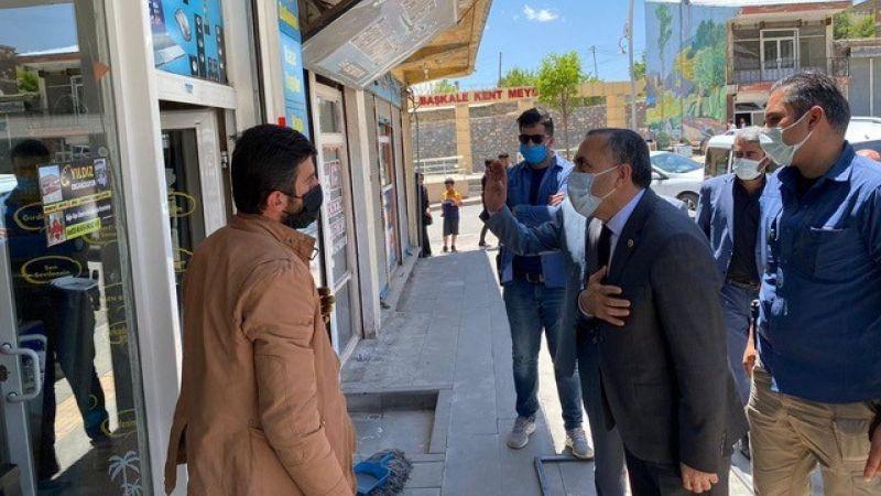 AK Parti Milletvekili Abdulahat Arvas Başkale'de