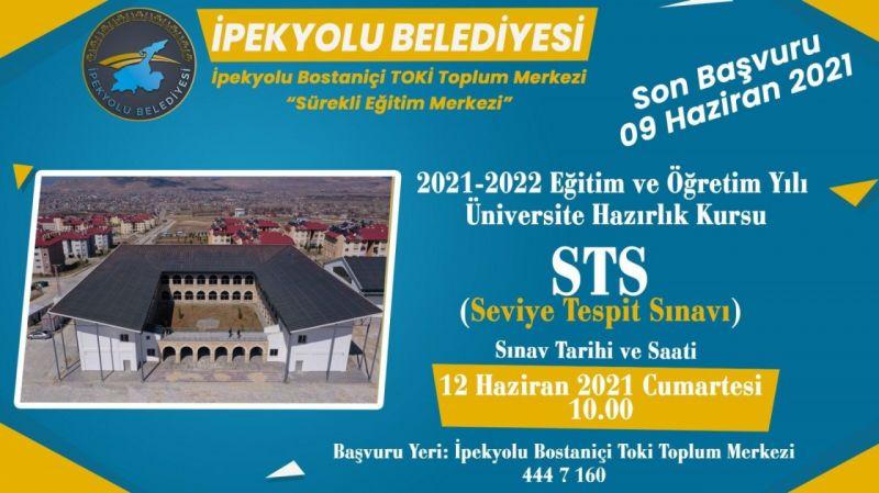 İpekyolu Belediyesi ücretsiz üniversite hazırlık kursu açıyor
