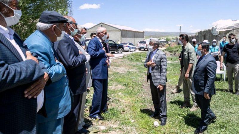 Van Çaldıran'da husumetli aileler barıştırıldı