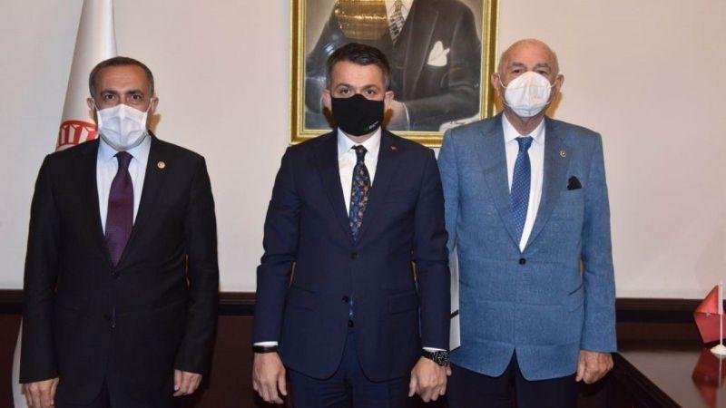 Van milletvekilleri Bakan Pakdemirli'den Van'a pozitif ayrımcılık istedi