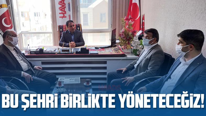 AK Parti İl Başkanı Türkmenoğlu: Bu şehri birlikte yöneteceğiz