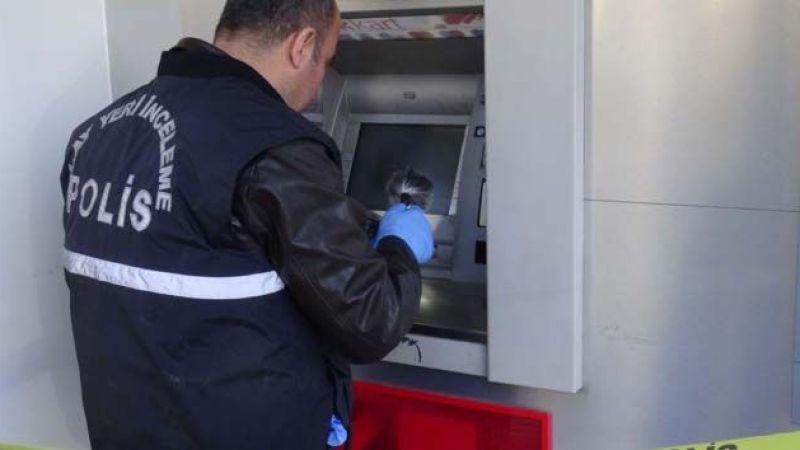 ATM'nin açığını bulup 625 bin liralık vurgun yaptılar