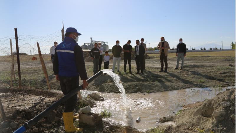 Van Bardakçı TOKİ'nin 8 yıllık içme suyu sorunu çözüldü