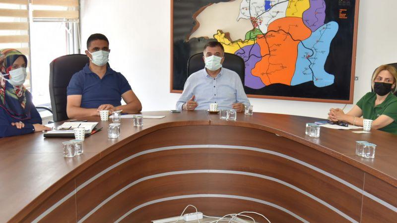 Van'da korona virüs değerlendirme toplantısı