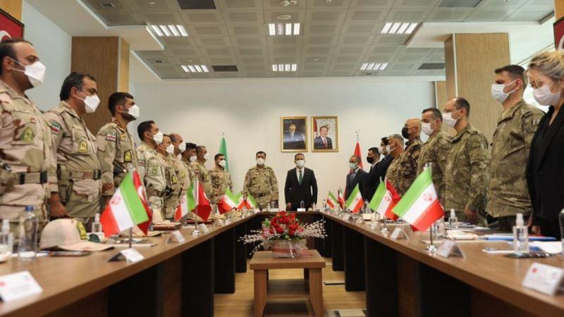 Hakkari'de sınır güvenliği toplantısı yapıldı