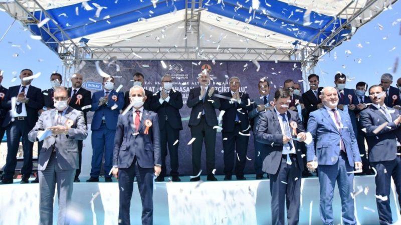 Ahlat-Malazgirt Karayolunun açılışı yapıldı