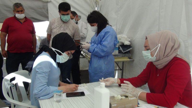 Van'da randevusuz 40 yaş üzeri vatandaşlara aşı yapıldı