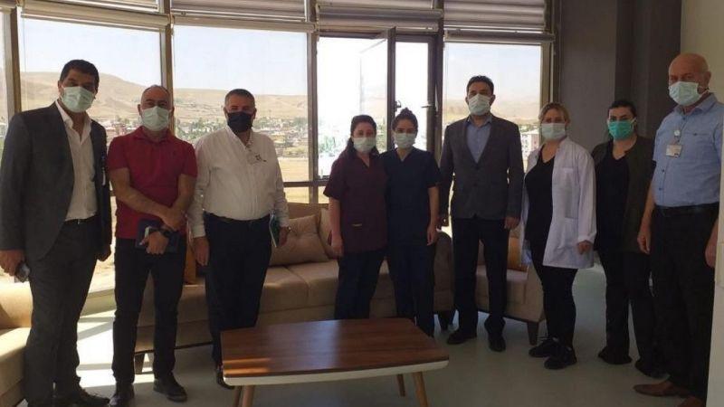 Van'da hastane odaları hayırseverlerin katkılarıyla sil baştan yenileniyor