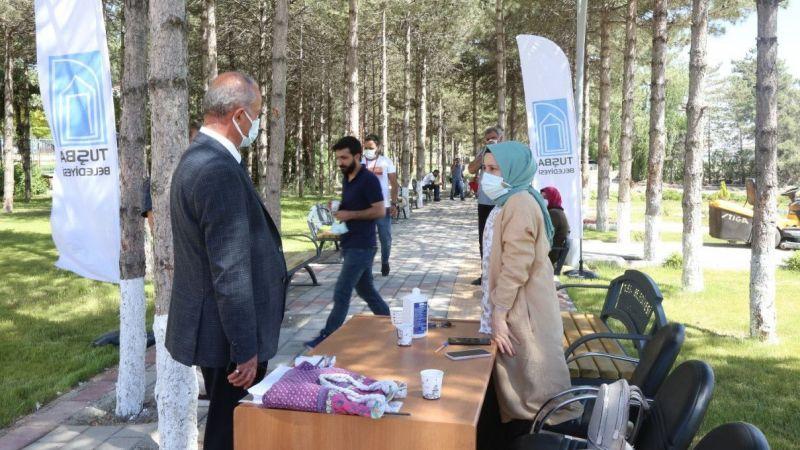 Tuşba Belediyesinden aşı seferberliğine destek